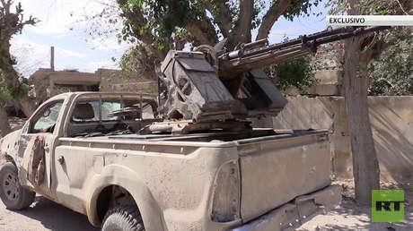 VIDEO: RT muestra las huellas del yugo radical del Estado Islámico en territorios liberados en Siria