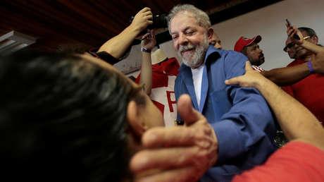 Brasil: 'Día nacional de movilización' en apoyo al expresidente Lula