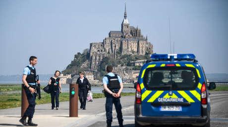 francia detienen hombre causó evacuación monte saint-michel jactarse
