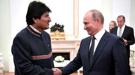 Putin: Gazprom podría duplicar la extracción de gas en Bolivia