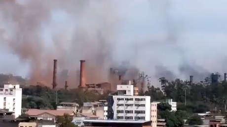 Brasil: Explosión en una fábrica deja al menos 30 heridos