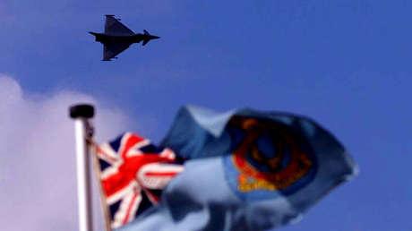medios británicos alaban cazas interceptar aviones rusos