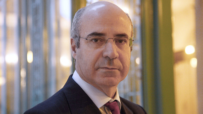 Hermitage Capital investment fund CEO William Browder (AFP Photo / Bertrand Guay)