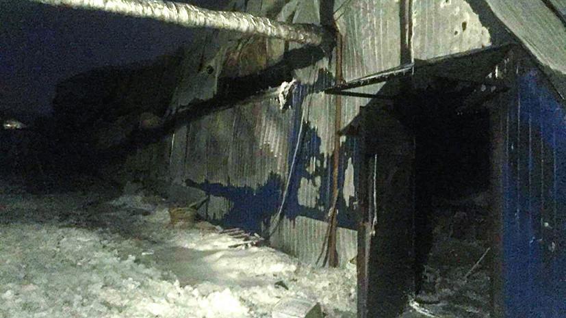 Погибших при пожаре на фабрике обуви в Новосибирске опознают только по ДНК