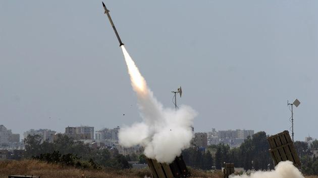 Israel intercepta un misil dirigido a Tel Aviv
