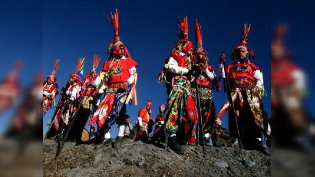 Un rito religioso de los indígenas peruanos, Patrimonio de la Humanidad