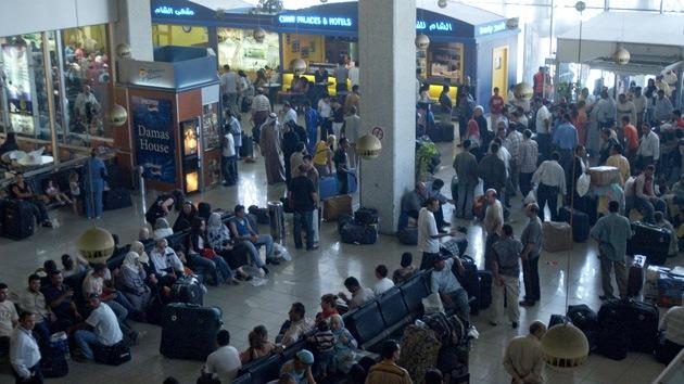 Los militares sirios retoman el control de los accesos al aeropuerto capitalino