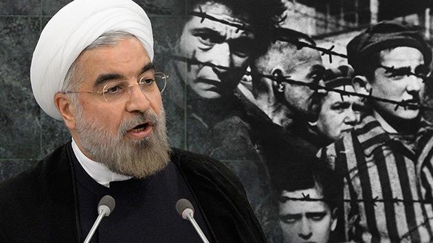 El presidente de Irán, Hasán Rohaní, reconoció el Holocausto como un hecho histórico