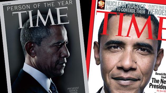 Obama, elegido por segunda vez 'Persona del Año' por la revista 'Time'