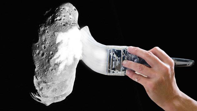 'Paintball' para evitar el choque de un asteroide con la Tierra