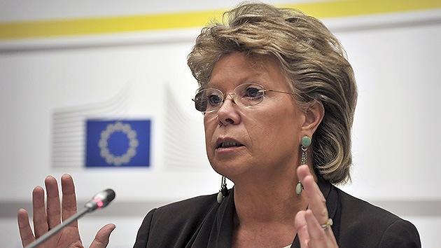 """Comisaria de la UE: """"No queremos que EE.UU. lea nuestro correo y escuche nuestras llamadas"""""""