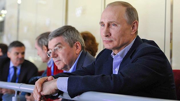 """Putin: """"Esperamos que algún día Occidente deje de mezclar el deporte y la política"""""""