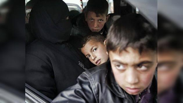 La oposición siria recluta a niños para la lucha armada