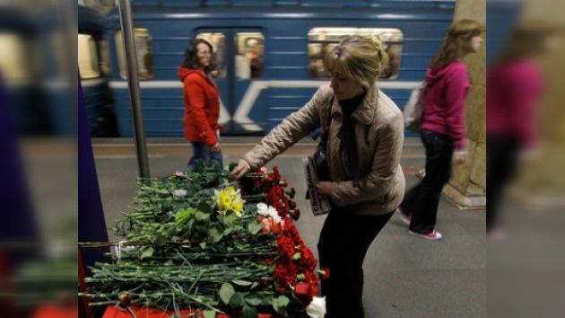 Moscú recuerda a las víctimas 40 días después de los atentados