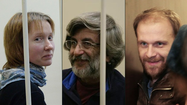 Ponen en libertad bajo fianza a tres activistas de Greenpeace detenidos en Rusia