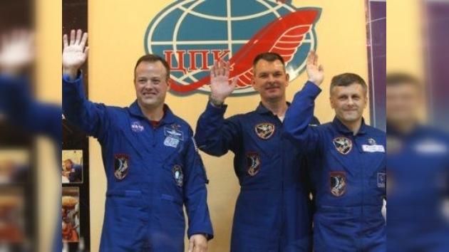 La nave 'Gagarin' está preparada para un vuelo histórico
