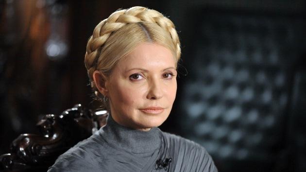 Yulia Timoshenko se presenta como candidata a la Presidencia de Ucrania