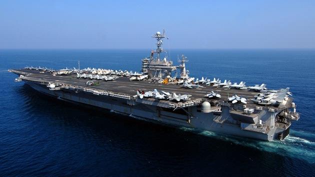 EE.UU. envía su cuarto portaaviones hacia Irán