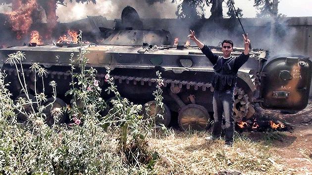 Armas estadounidenses, sangre siria