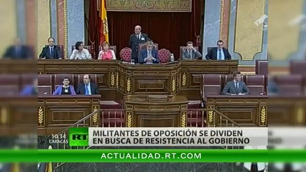 Socialistas buscan una táctica 'más contundente' contra los ajustes en España