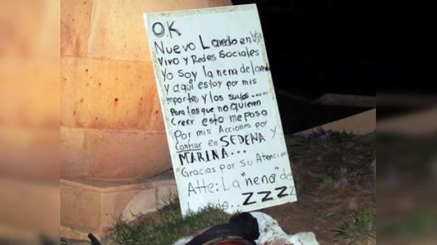 Narcos mexicanos 'decapitan' las redes sociales