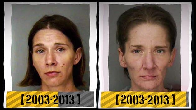 Las caras de la drogadicción: un corto trayecto de arrestos y degeneración