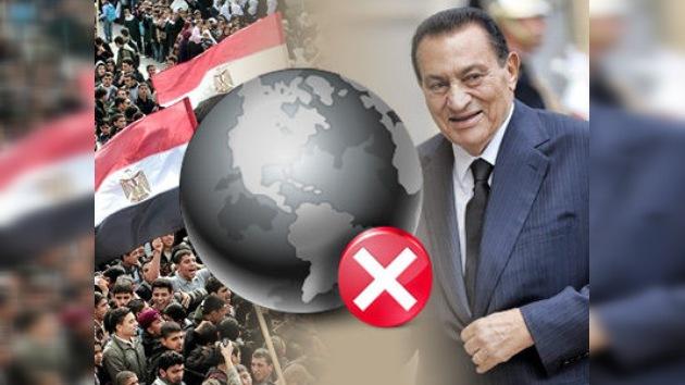 Mubarak deberá pagar 33 millones de dólares por el corte de Internet durante las protestas