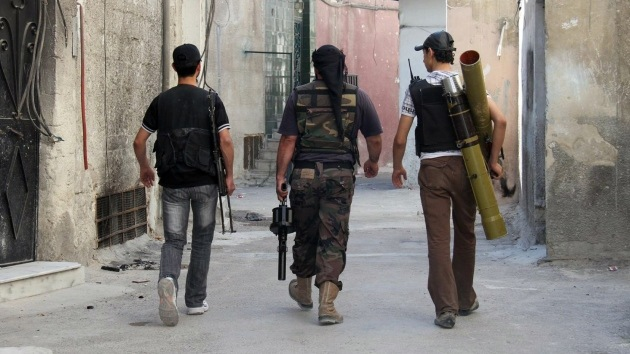 """La oposición siria """"recibe apoyo de las autoridades de Israel"""""""