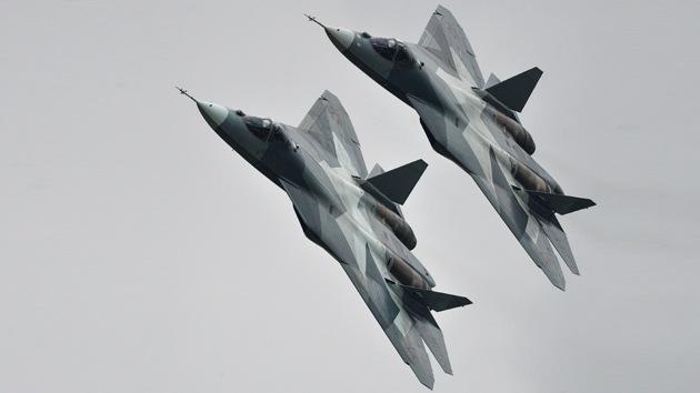 Rusia invitará a Brasil a unirse al 'club' de fabricantes del caza T-50