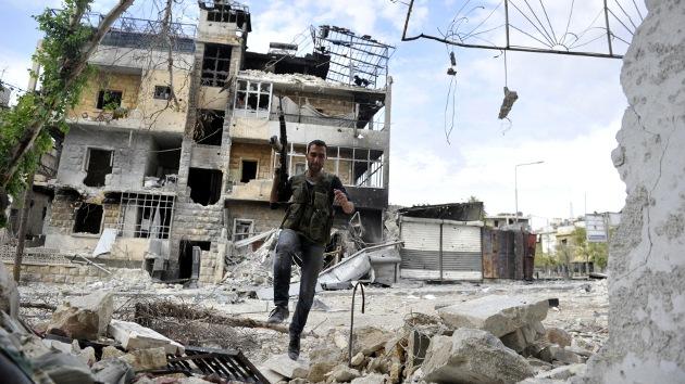 Conflicto sirio: Los rebeldes huyen de Alepo