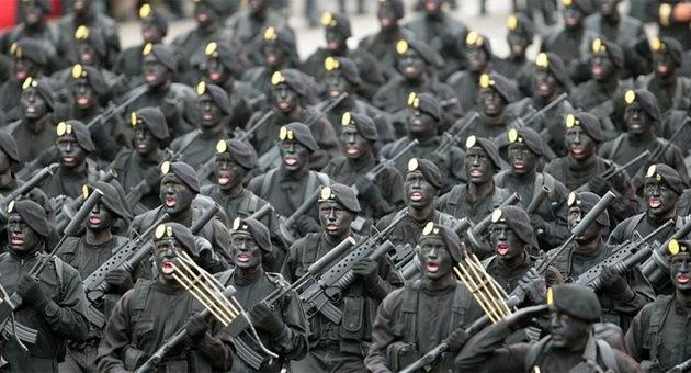 Apariencias que matan: los uniformes militares más atemorizantes