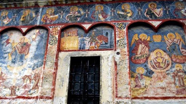 Unos frescos antiguos hallados en Rumanía ponen al rojo vivo la teoría del apocalipsis