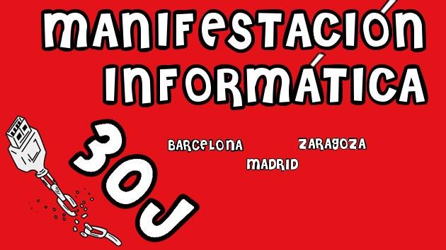 La crisis arrastra a los informáticos españoles: se manifestarán el 30 de junio