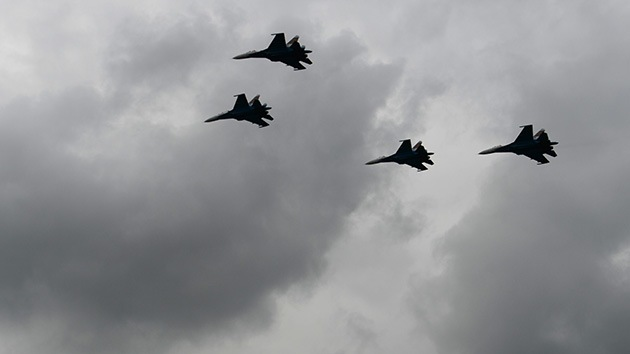 Llegan a Bielorrusia los primeros cazas rusos en respuesta a los movimientos de la OTAN