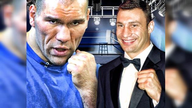 Nikolái Valúev está listo para enfrentar al campeón mundial Vitali Klichkó