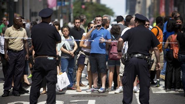 Los policías, responsables de los nueve heridos en el tiroteo del Empire State