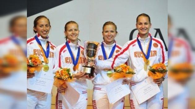 Mundial de esgrima: oro para Rusia en sable femenino por equipos