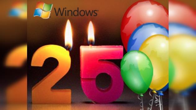 Windows cumple 25 años