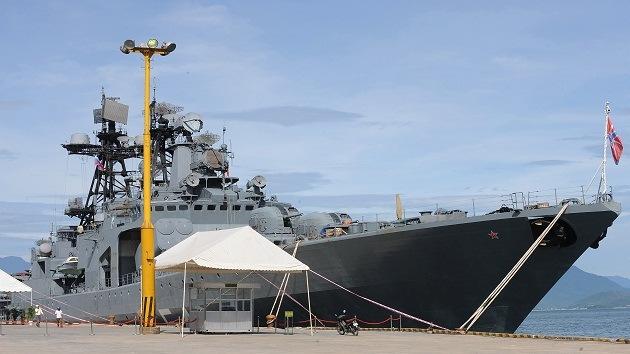 Buques de guerra rusos llegan a China para realizar ejercicios conjuntos