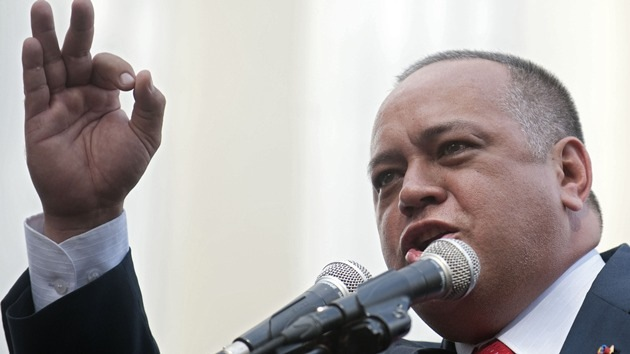 """Diosdado Cabello: """"EE.UU. quiere apoderarse de nuestro petróleo y nuestras riquezas"""""""
