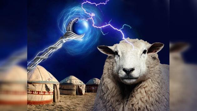 Jubilado crea un avanzado báculo para pastores