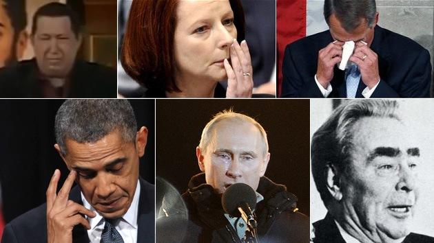 Los presidentes también lloran