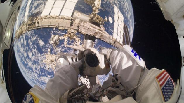 Espectaculares 'selfies' realizados en el espacio