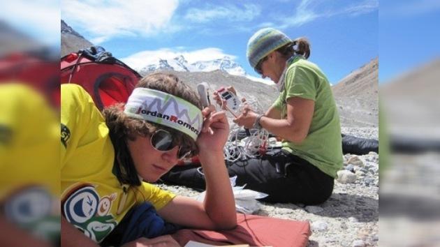 Un adolescente de EE. UU. conquistó el Everest