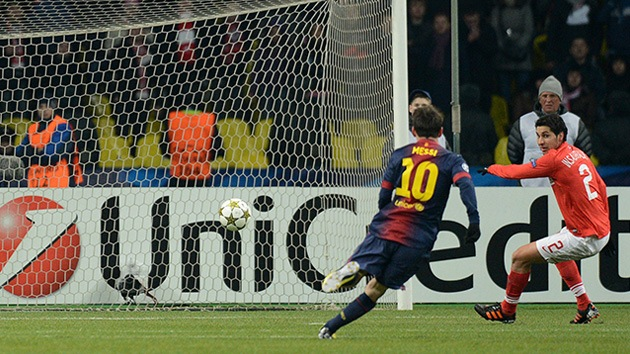 El Barcelona pasa por encima al Spartak en el partido celebrado en Moscú