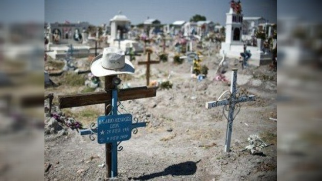 Más de 6.000 personas han muerto en el 2011 en México a causa del crimen organizado