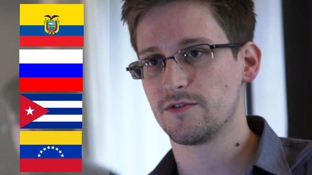 Rusia, Cuba, Ecuador y Venezuela tratarán el caso Snowden en Moscú