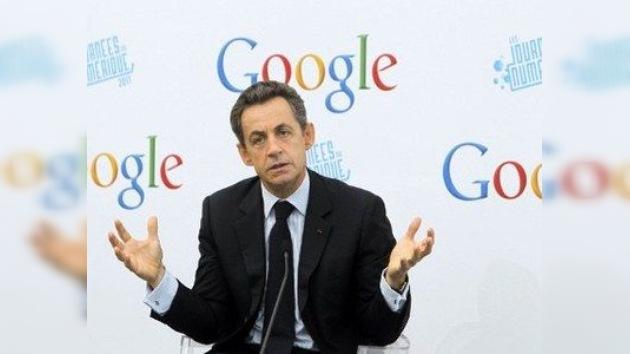 Sarkozy propone introducir el 'impuesto a Google'