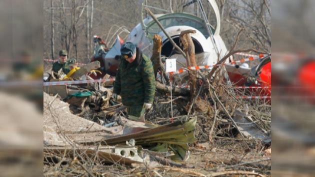 Autoridades polacas, satisfechas con la investigación del accidente aéreo