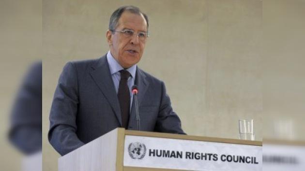 Rusia condena en Ginebra la violencia contra los civiles en Libia